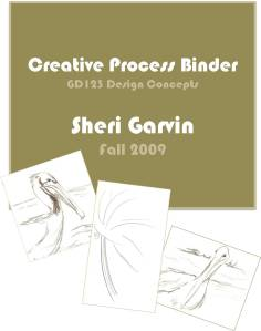 Process binder front cover