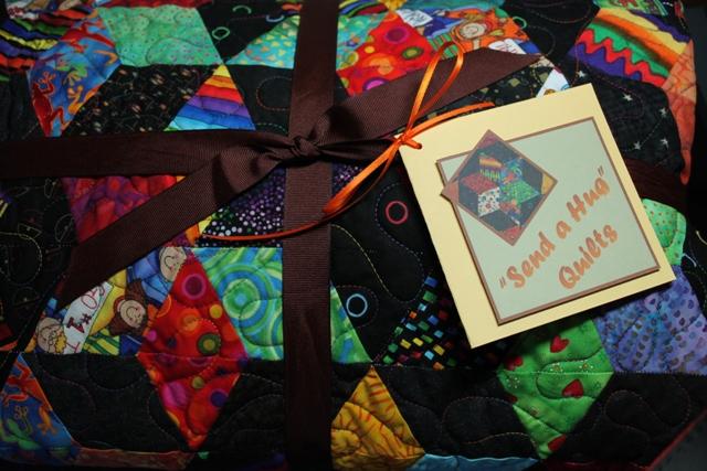 bundled quilt