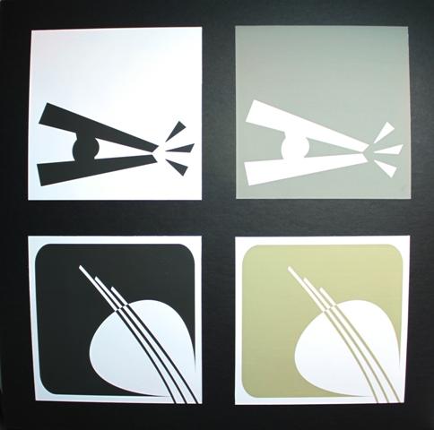 Bag clip logos